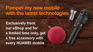 Buy any Huawei device and get free gifts